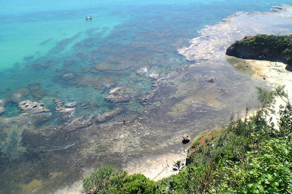 Một góc của biển Dung Quất