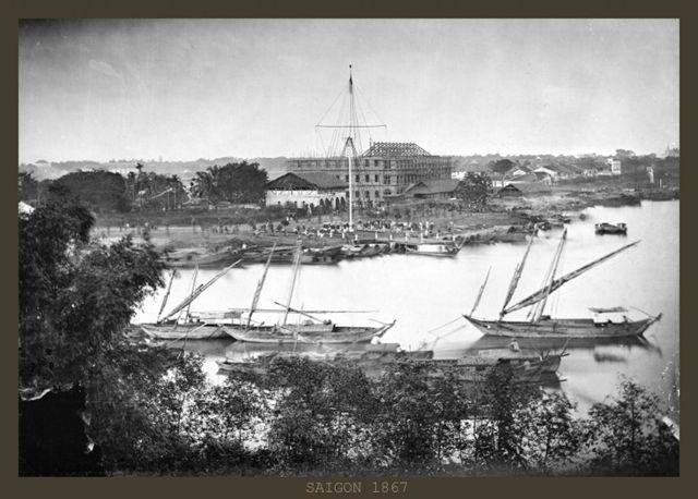 Bến nhà Rồng năm 1867