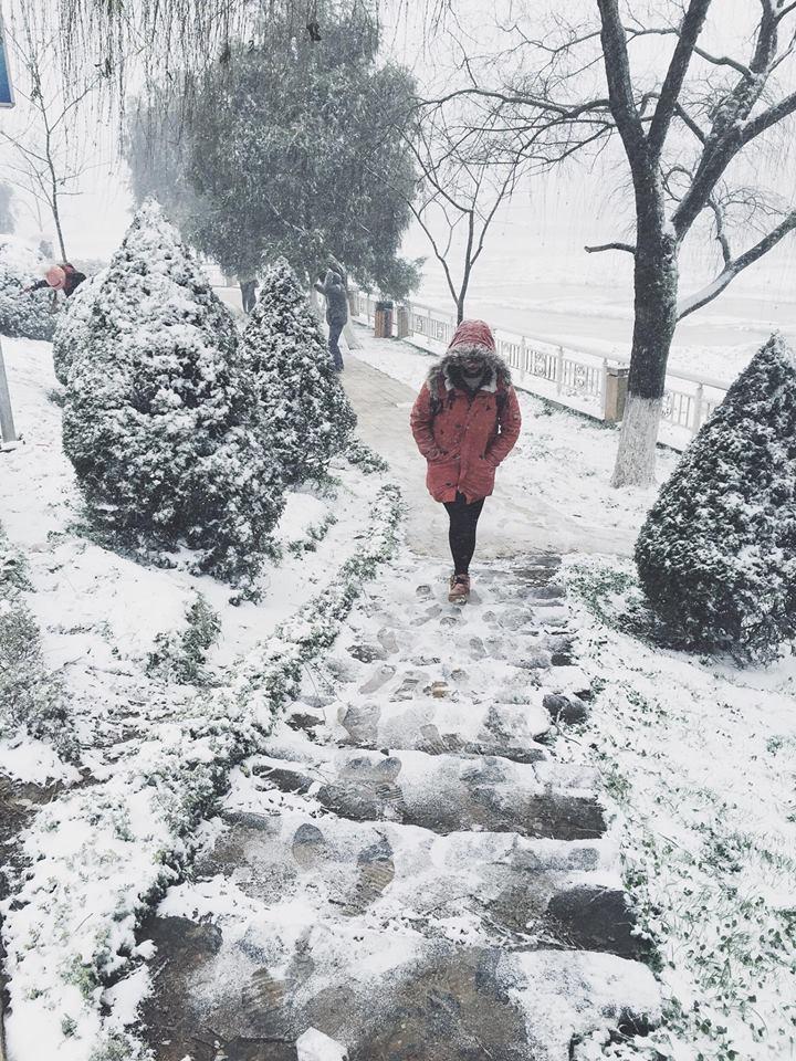 Một Sapa tuyết rơi thu hút rất nhiều bạn trẻ đến khám phá