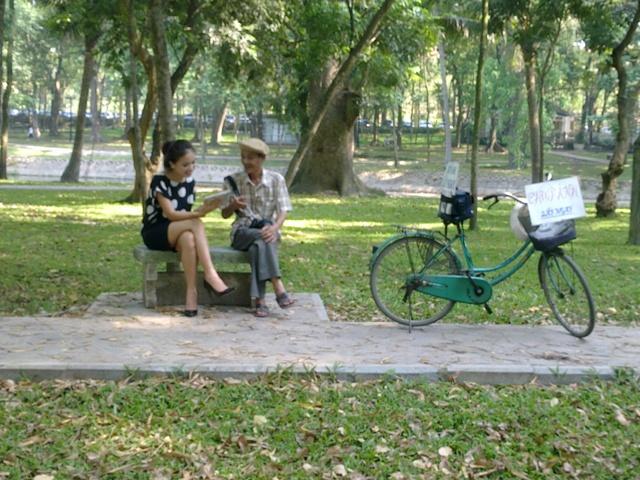 Bách Thảo là nơi thư giãn của người dân Hà Nội
