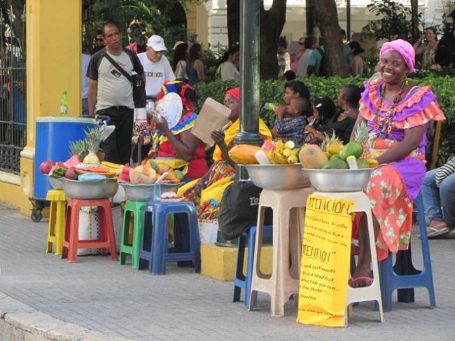 Thứ không thiếu nhất tại Colombia là hoa quả