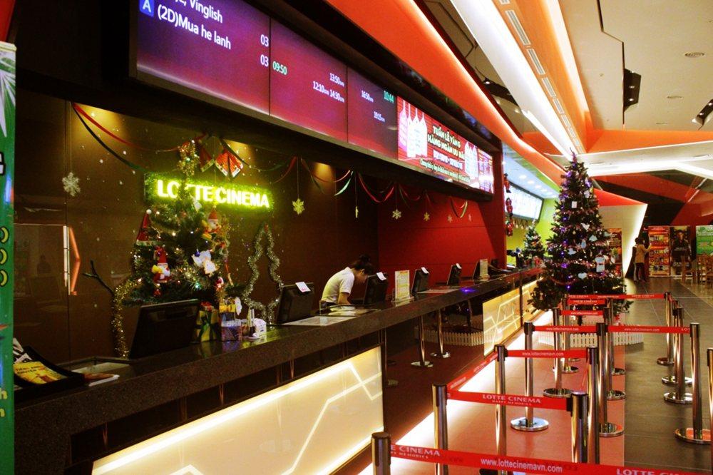 Một số hình ảnh của rạp chiếu phim Lotte Hà Đông