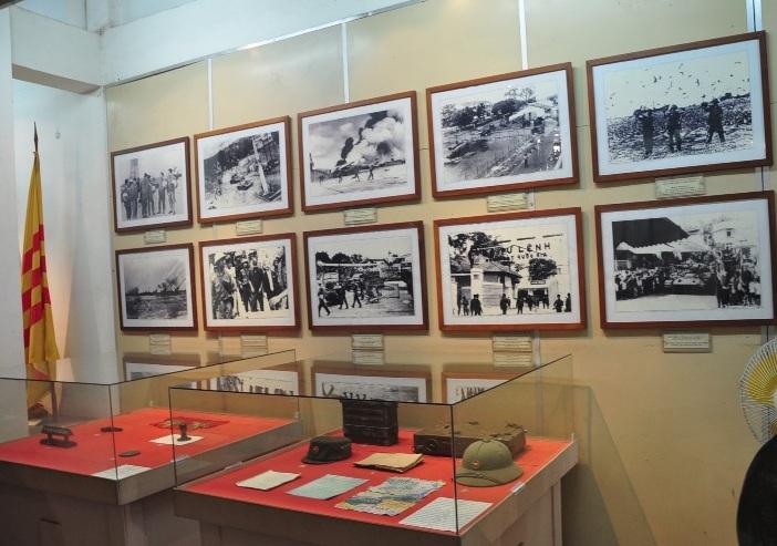Một góc của Bảo tàng Hồ Chí Minh
