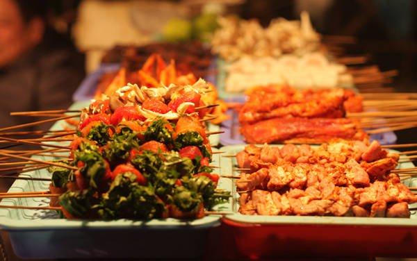 Món nướng ở Sapa, Lào Cai.