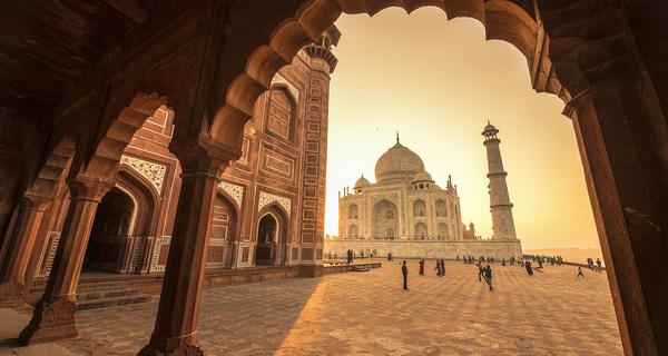 Ấn Độ là một đất nước nổi tiếng với kiến trúc độc đáo...