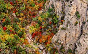 4 ngọn núi xinh đẹp giúp bạn thưởng trọn mùa thu Hàn Quốc