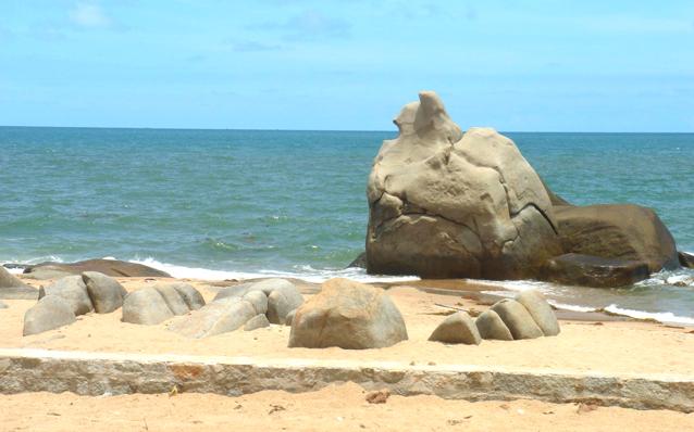 Biển Long Hải yên tĩnh, thơ mộng