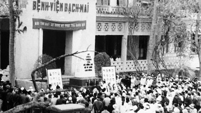 Lễ tưởng niệm cán bộ bệnh viện hi sinh năm 1972