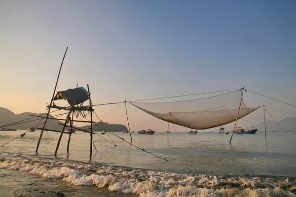 Biển Quy Nhơn. Ảnh: KTS Chien Tanam