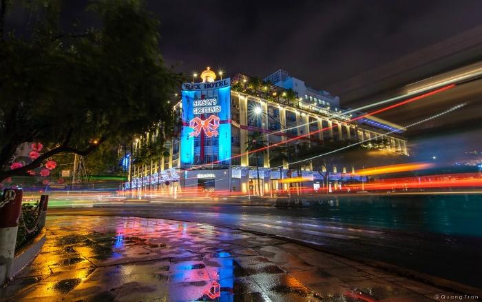 Mùa đông Sài Gòn đôi khi cũng giá lạnh, rét mướt - Ảnh: Quang Trần