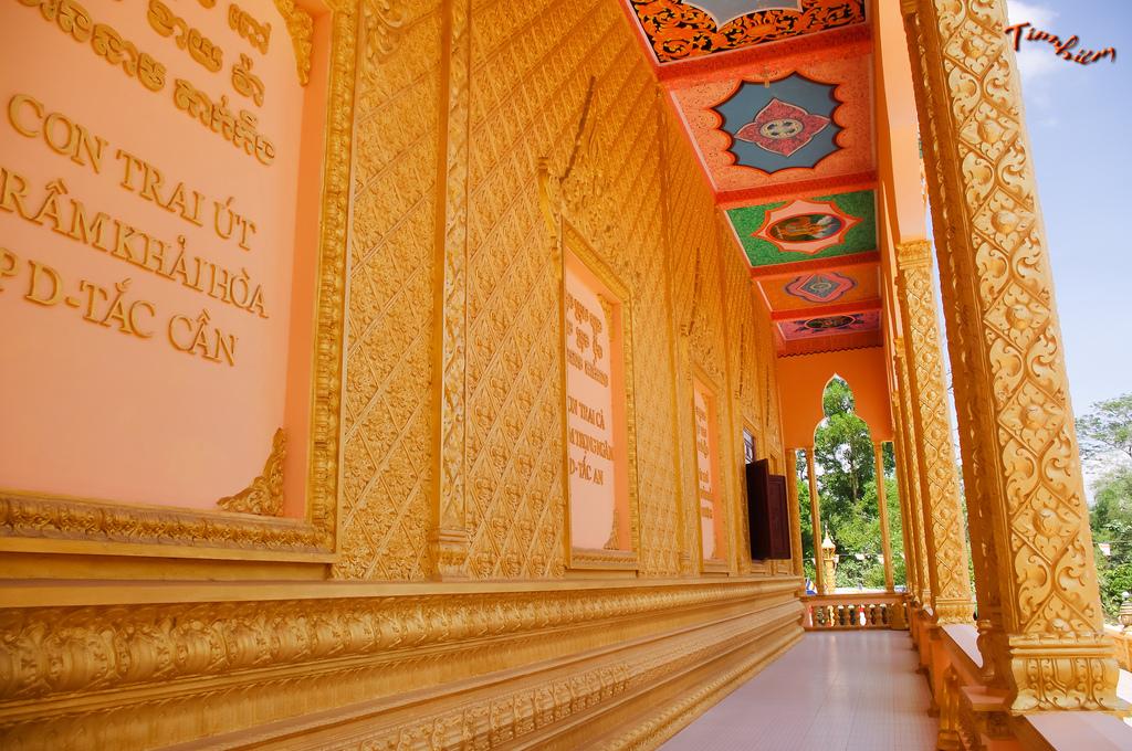 Một số hình ảnh về chùa Trầm Bê ở Trà Vinh
