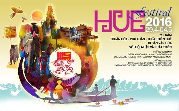 Lễ khai mạc Festival Huế 2016 sẽ diễn ra vào tối ngày 29/4 tại Kỳ đài Huế.