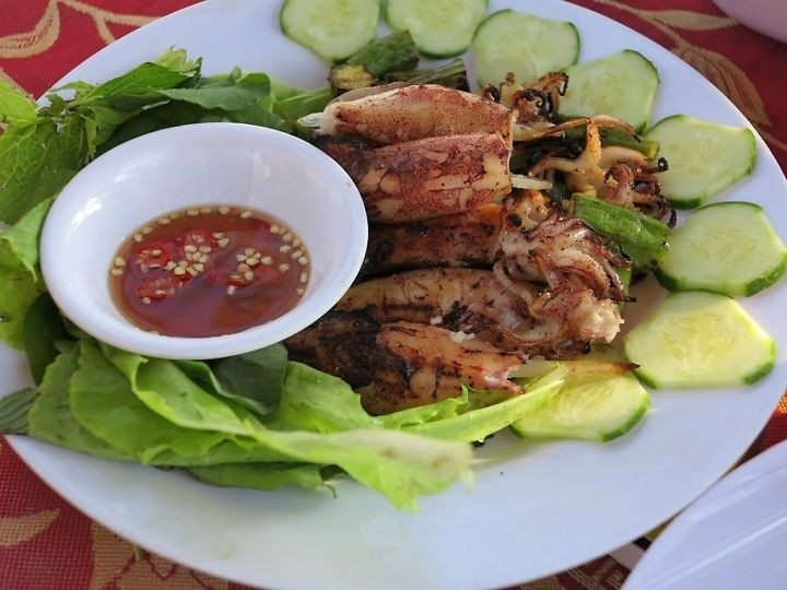 Mực nướng Phú Quốc