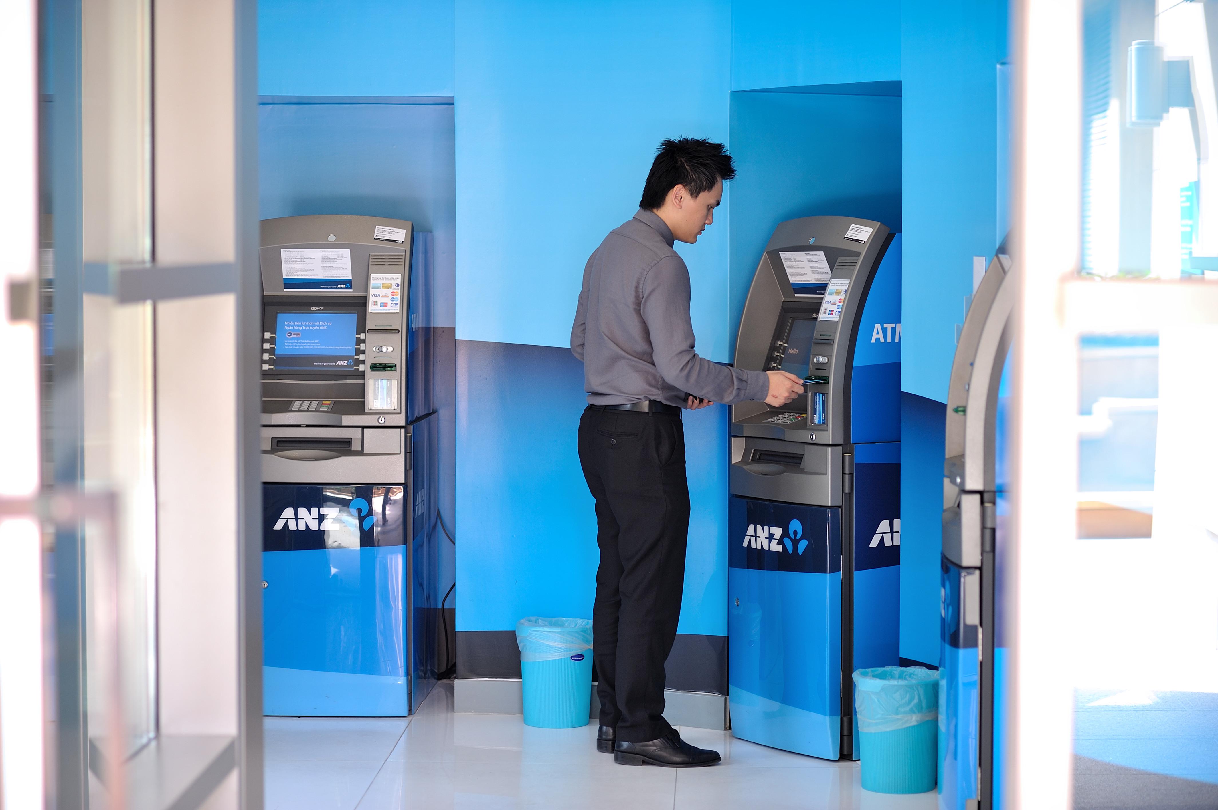Tại một cây ATM bạn có thể tìm địa chỉ của các cây ATM cùng hãng khác