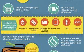 Cách xếp hành lý thông minh khi đi du lịch