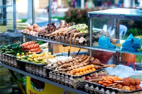 đồ ăn vặt, bến Ninh Kiều, Ninh Kiều, chợ cổ Cần Thơ