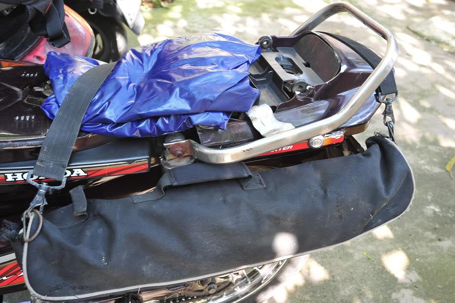 Mẹo chằng được nhiều đồ trên xe