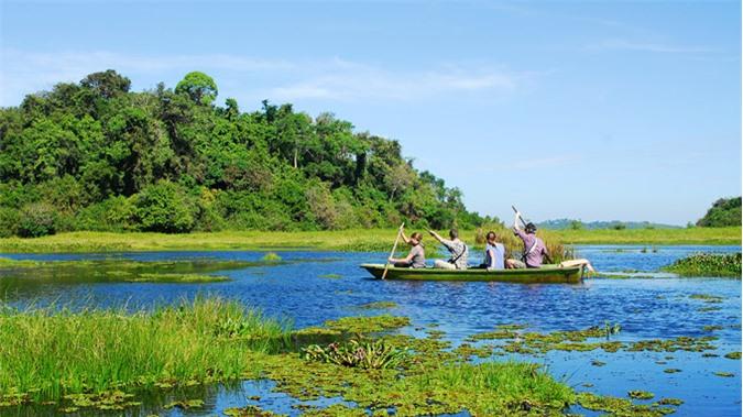 Vườn quốc gia Nam Cát Tiên hùng vĩ