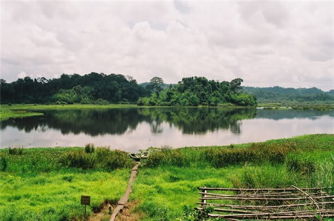 Phong cảnh thơ mộng ở Nam Cát Tiên