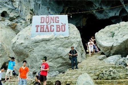 Độc đáo động Thác Bờ Thung Nai