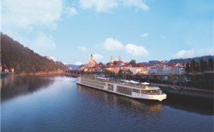 Du lịch sông với thuyền Viking siêu sang