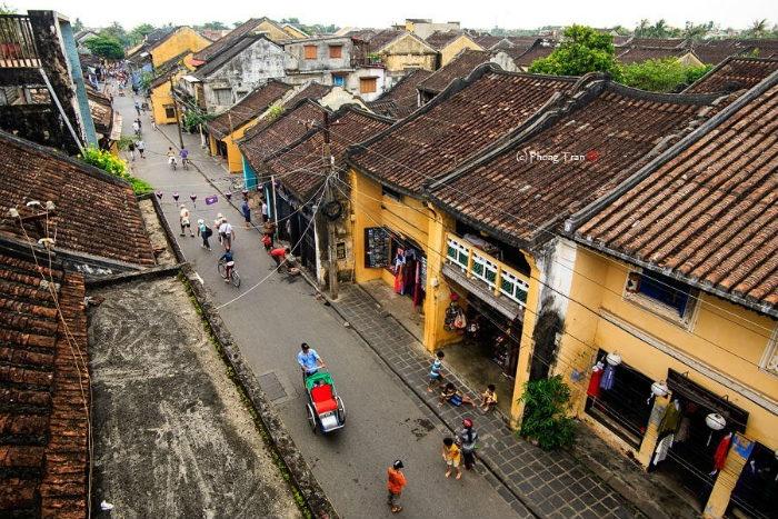 Một góc phố cổ Hội An nổi tiếng