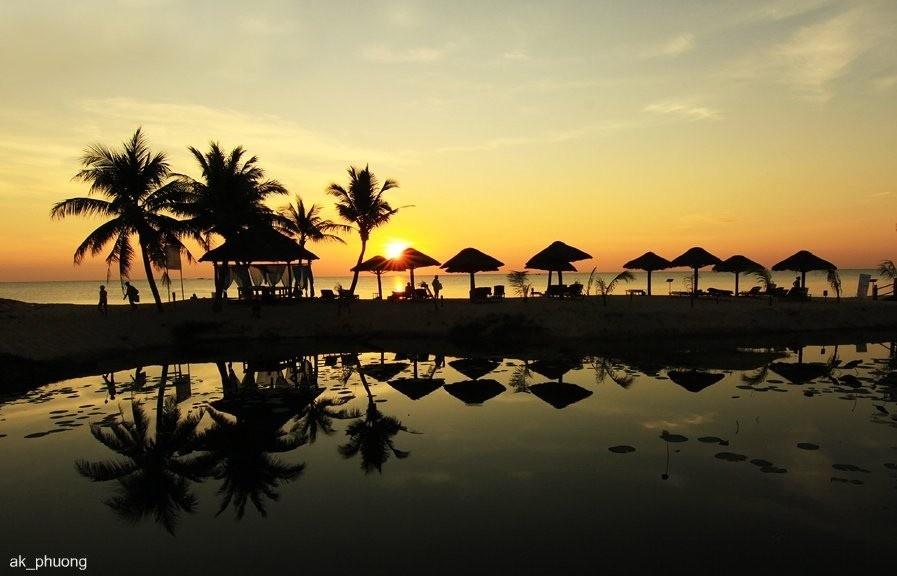 Mặt trời trên biển Phú Quốc - Ảnh: Ak_Phuong