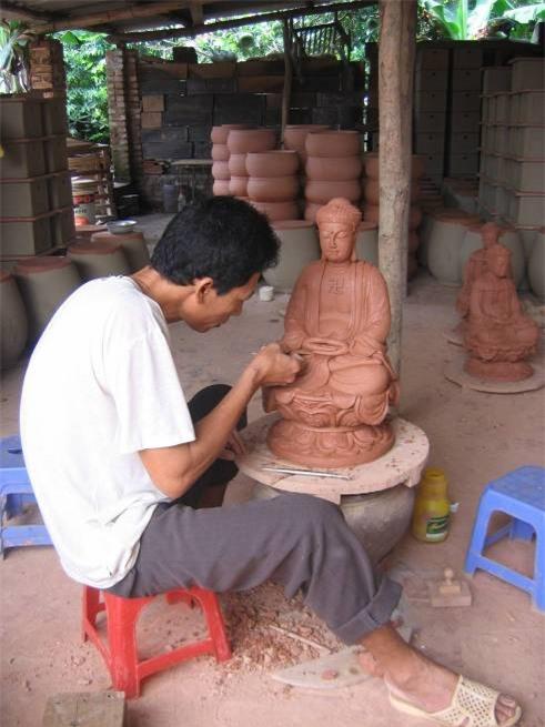 Sổ tay du lịch so tay du lich Sotaydulich Sotay Dulich Khampha Kham Pha Bui Thăm làng gốm Phù Lãng