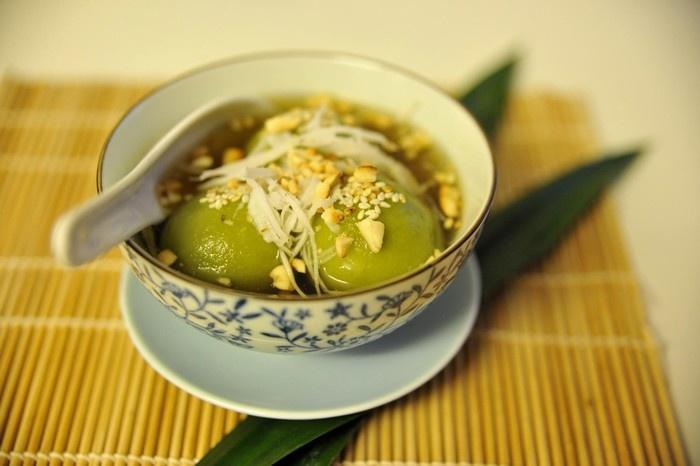 Bánh trôi tàu Hà Nội hấp dẫn, thơm ngon