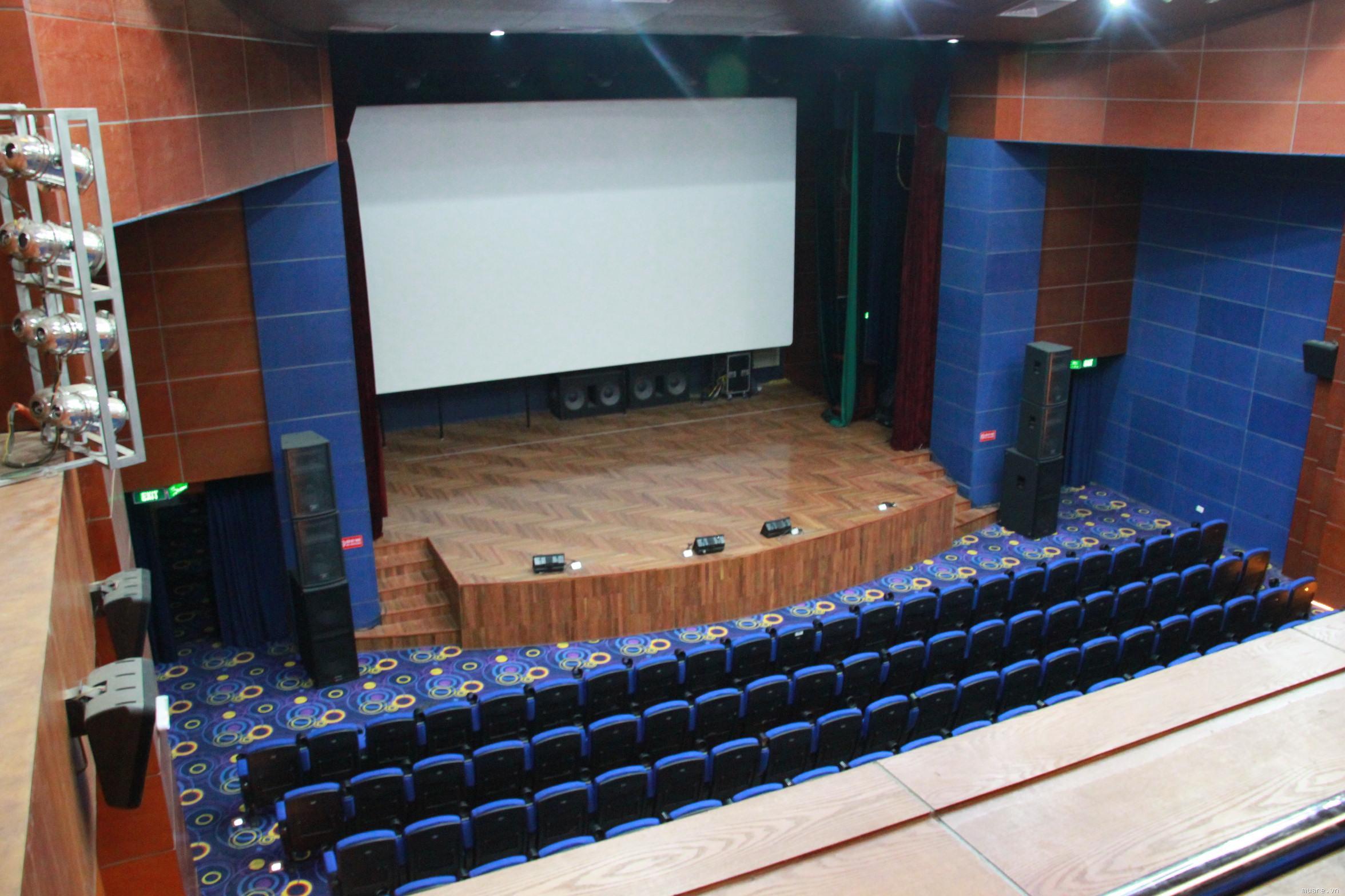 Phòng chiếu phim của Rạp Kim Đồng