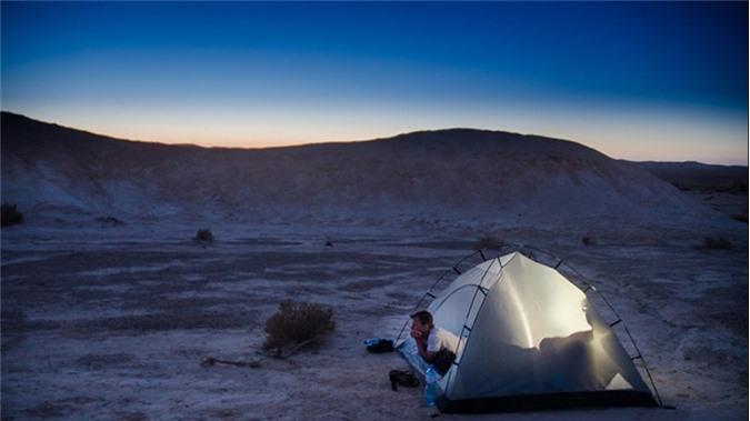 Sa mạc Negev, Israel.