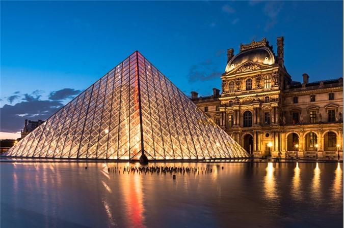 Công trình Louvre, Paris, Pháp.