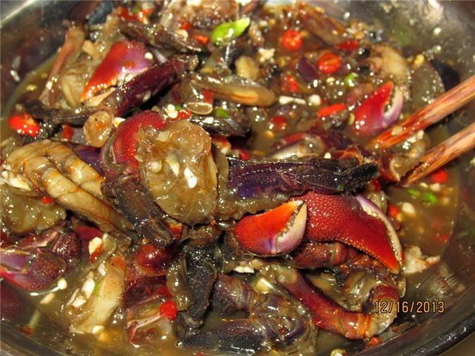 Ba khía là món ăn đặc sản ở Bạc Liêu