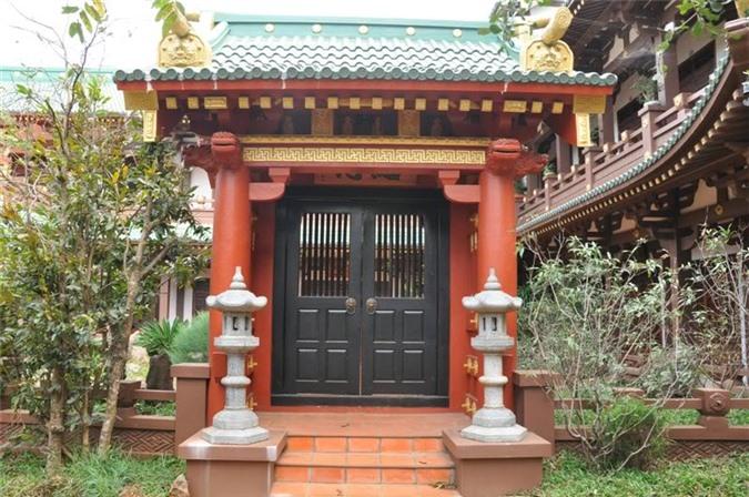 Chùa Minh Thành Gia Lai được xây theo kiến trúc Nhật - Trung