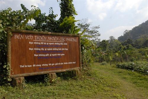 Nội quy khi đến vườn quốc gia Cúc Phương