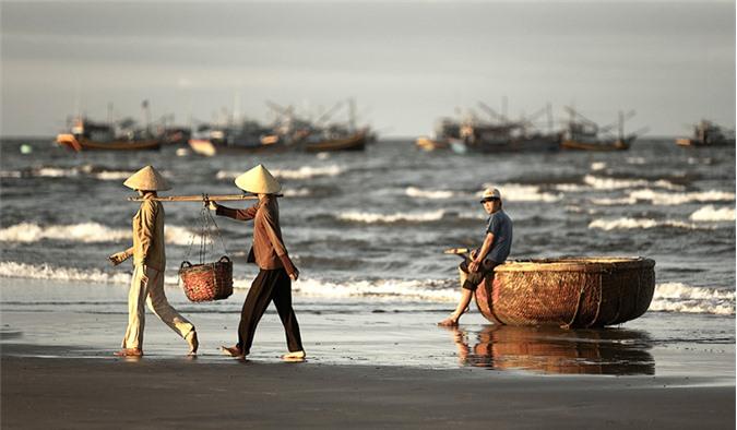 Quang cảnh làng chài Mũi Né