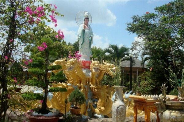 Chùa Tiên Châu ở cù lao An Bình
