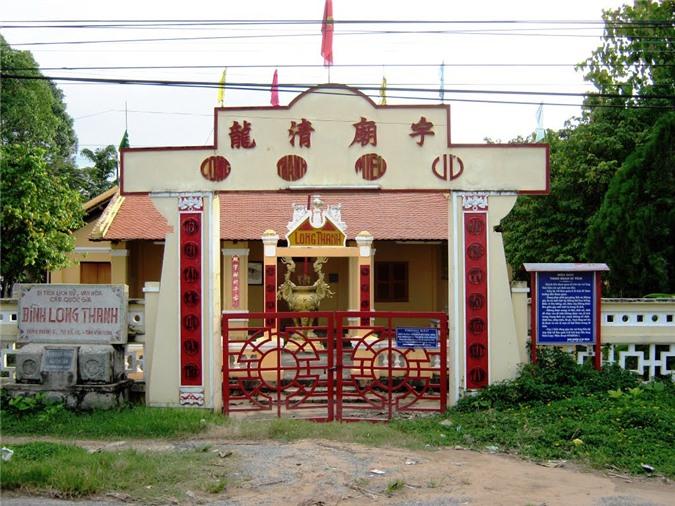 Đình Long Thanh ở Vĩnh Long