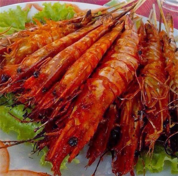 Món ăn hải sản phổ biến ở đây