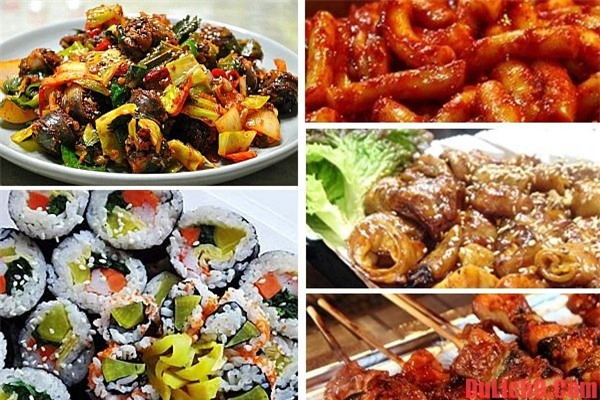 Những món ngon đặc trưng nổi tiếng Hàn Quốc