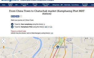 Phương tiện liên lạc và di chuyển ở Bangkok