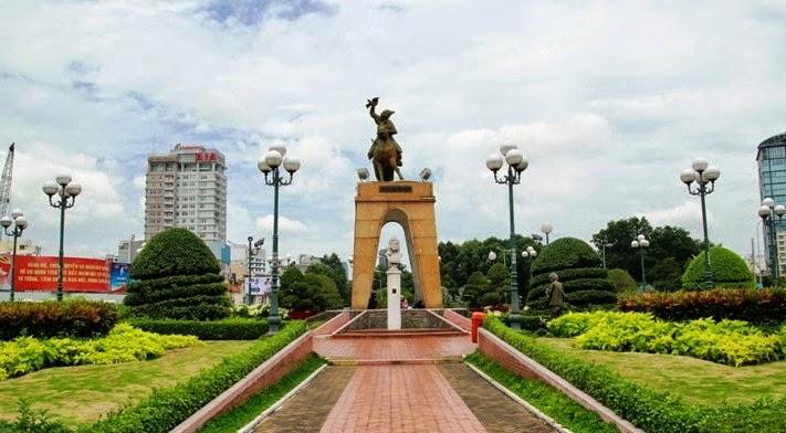 Bùng binh Quách Thị Trang ngày nay