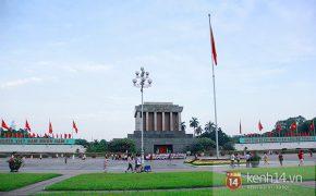 Quảng trường Ba Đình và Lăng Chủ tịch Hồ Chí Minh