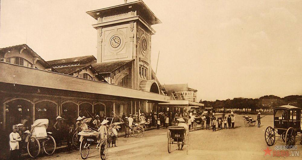 Chợ Bến Thành những năm 1920