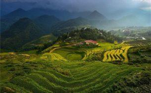 Ruộng bậc thang Việt Nam lọt vào top ảnh du lịch năm 2015.