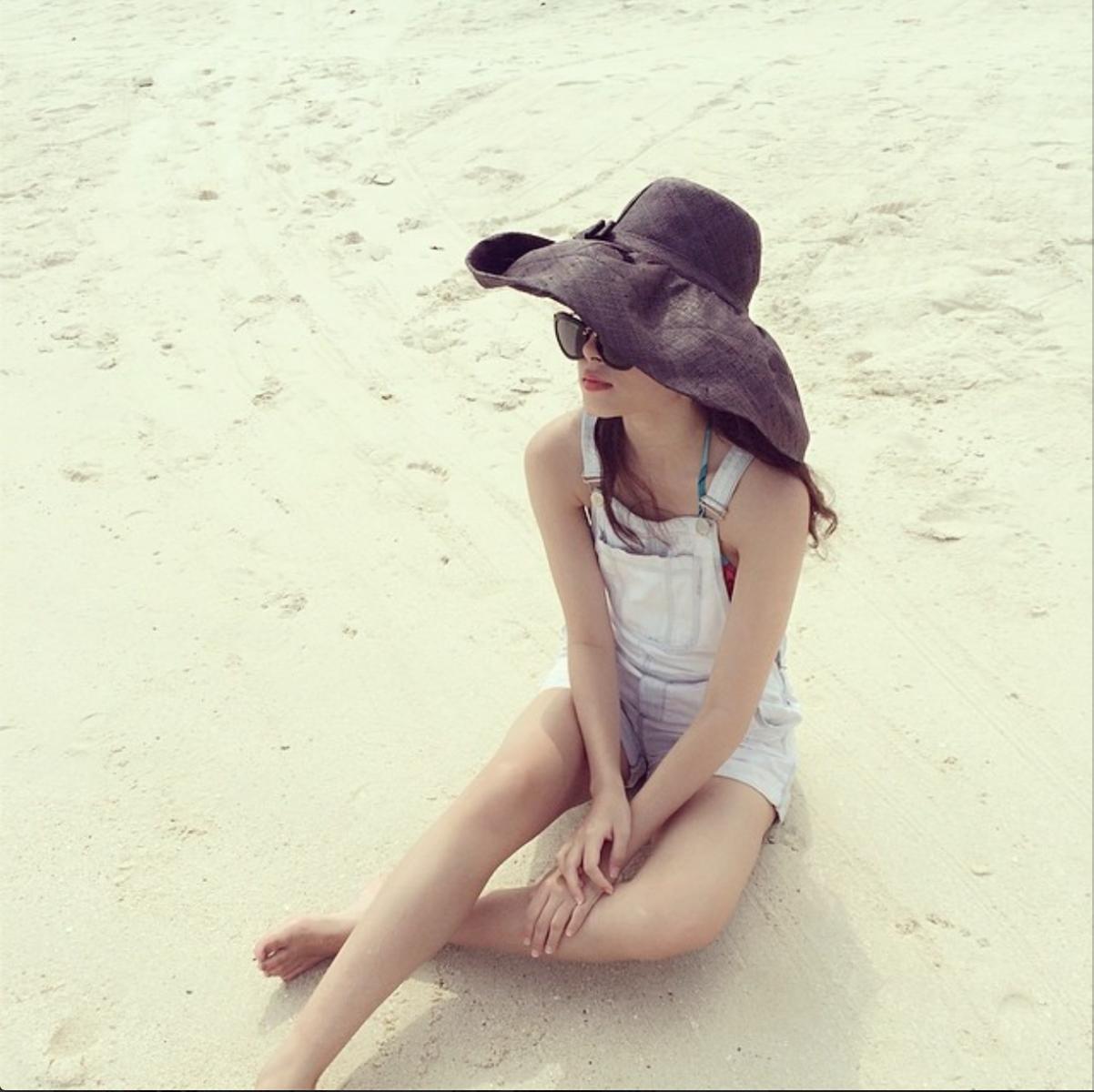 Một số dáng mũ đi biển