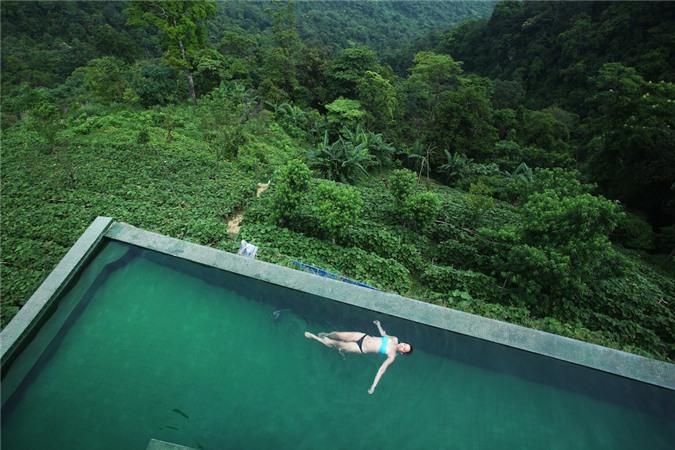 Bể bơi ở Tam Đảo