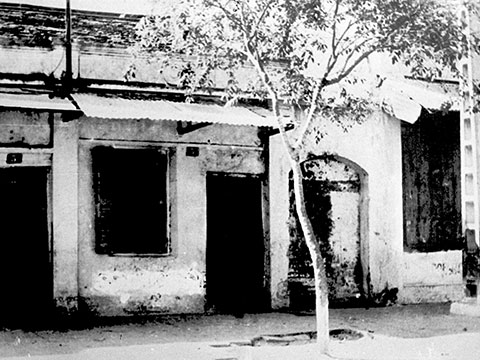 Nhà D5 phố Hàm Long, nơi thành lập chi bộ Cộng sản đầu tiên ở Việt Nam