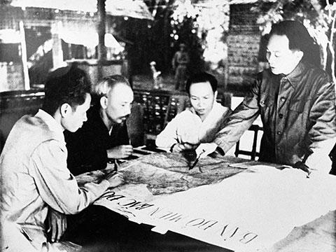 Bộ chính trị trung ương Đảng Lao Động Việt Nam họp ngày 6/10/1953