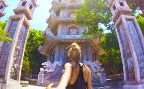 Việt Nam trong bộ ảnh 'Follow me' của du khách nước ngoài